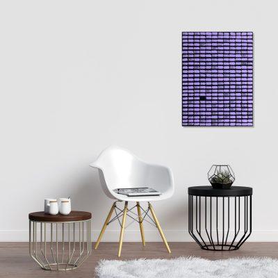 Purple dash painting